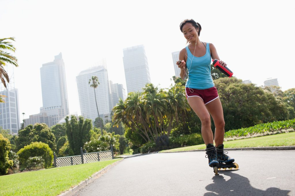 womens workout rollerblades