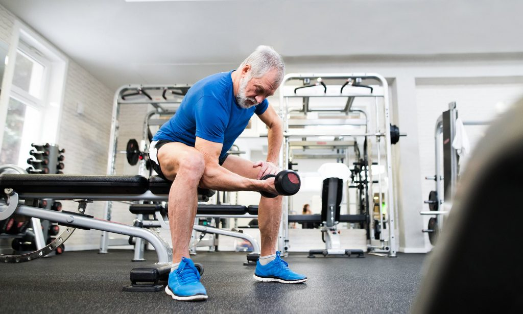 weight training routines over 50